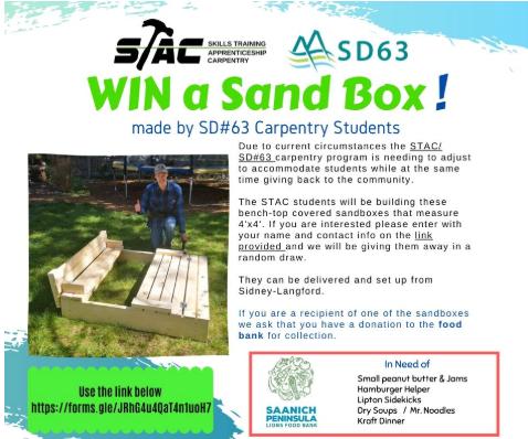 Win a Sandbox