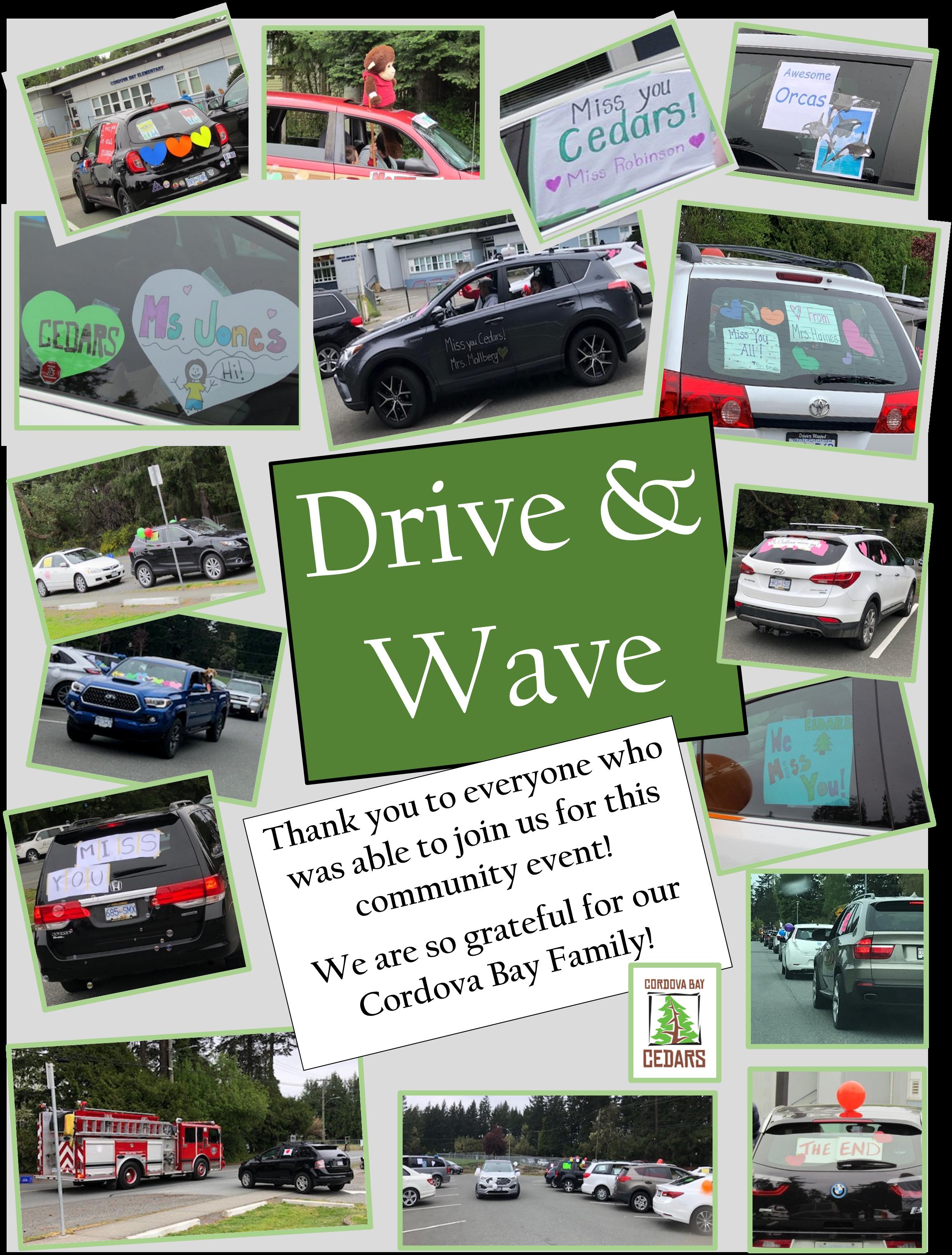 Drive & Wave Photo